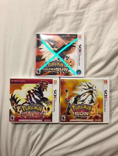 3DS Pokémon games