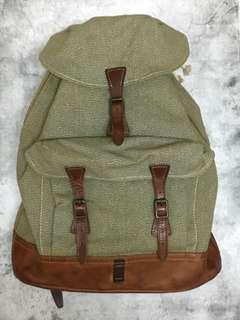 double rl rrl vintage backpack