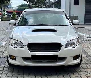 Subaru LEGACY GT 2.5 TURBO FASTER GRAB IT