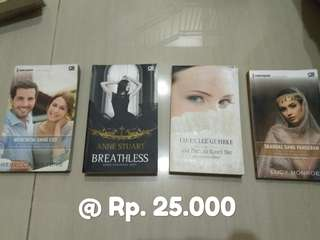 Novel Preloved 25k Collection