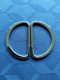 Belt buckle rings