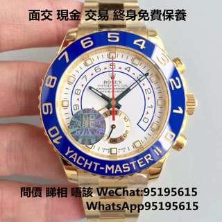 勞力士 Rolex Yacht-Master II 116688 金遊艇 44mm