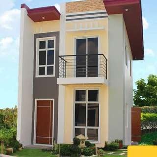2 Bedroom House and Lot for Sale: DAPHNE MODEL - RCD Royale Homes, Silang, Cavite
