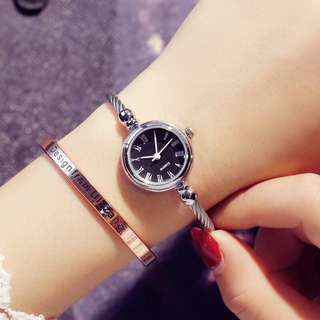Watch female students Korean version of the simple retro trend ulzzang winding bracelet style compact hundred small refreshing table