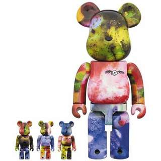 Bearbrick Pushead 400% & 100% set of 4