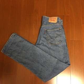 🚚 (Size 30/32版稍大) Levi's 505 淺色牛仔褲