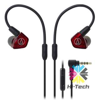 鐵三角兩重平衡單元入耳式耳機 Audio-Technica Consumer ATH-LS200iS Live Sound In-Ear Headphones