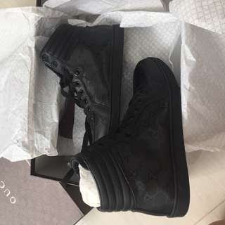 Gucci high top shoes new