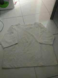 Tshirt putih #maudecay