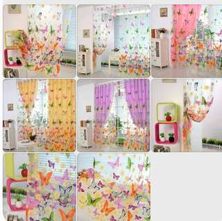Batterfly curtains