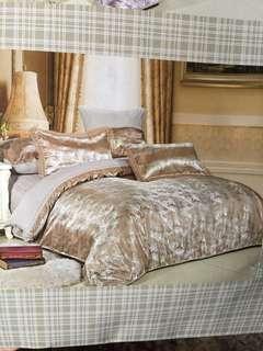 Quilt Bedsheet Set - Queen Size