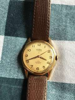 1950s Swiss Technos winding watch