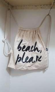 Beach please bag