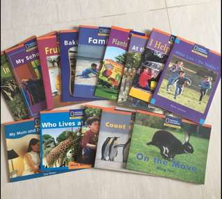National Geographic Window on Literacy (Step Up) 14 titles