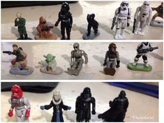 starwars small figures for planes shuttles