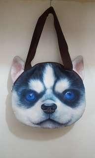 Husky shoulder bag