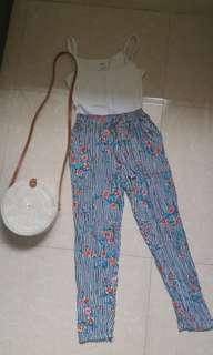 Floral Pants / Trousers