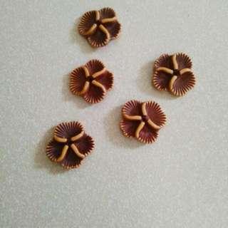 Craft Beads (Wooden)