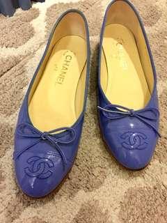 Chanel 平底鞋 90% 新,size 36C