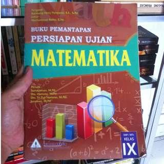 Buku pemantapan persiapan ujian matematika SMP kelas IX