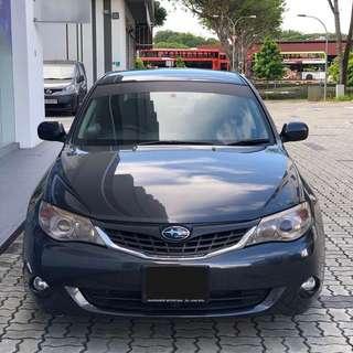 Subaru IMPREZA MANUAL (WELCOME GRAB DRIVER)