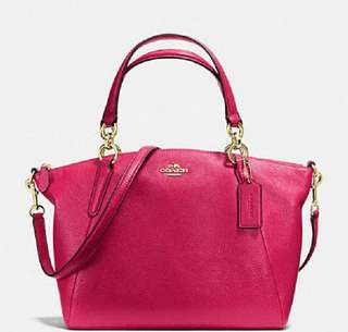 AUTHENTIC]  F34494 COACH SMALL KELSEY SATCHEL BAG