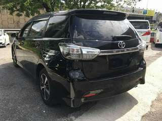 Toyota Wish S Spec Unreg 2013