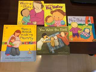 Getting ready for baby bundle - perfect books for your child