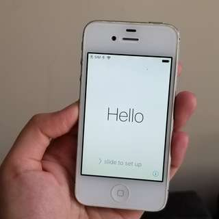 iPhone 4S white 32G