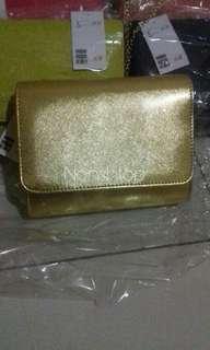 Mini clutch HnM Gold