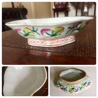 Antique Footed Bowl