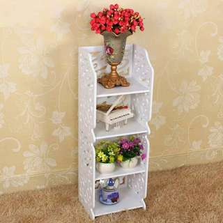 Rak Buku 4 Tingkat / Stand Book Rack 4 Layer DOMESTIC