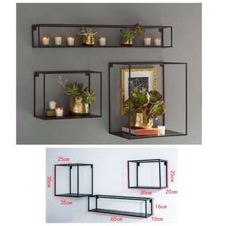 3pcs Set Metal Frame Art Decor -below cost