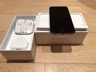 iPhone 6s Space Grey 128GB Perfect Condition