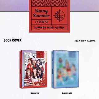 [PREORDER] GFRIEND - Summer Mini Album Sunny Summer
