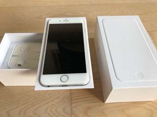 iPhone 6s Silver 128GB Perfect Condition