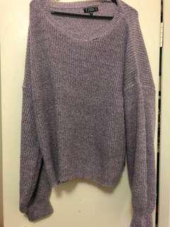 Dissh purple knit sweater