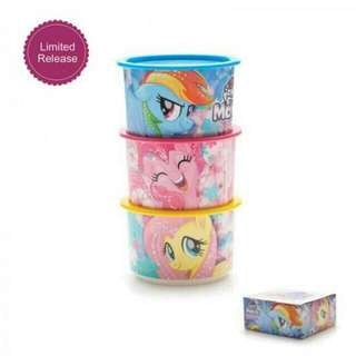 Little pony canister tupperware