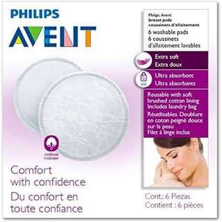 Avent washable nursing pads