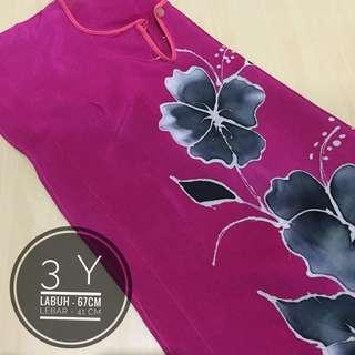 Baju kelawar batik budak