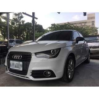 <小馬愛車 實車實價專區> 2012 Audi A1 1.4 白