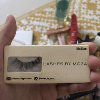 FALSE LASHES ( BULU MATA PALSU ) LASHES BY MOZZA