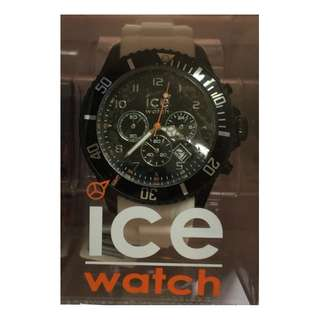 全新 CE WATCH 白色 矽膠帶錶