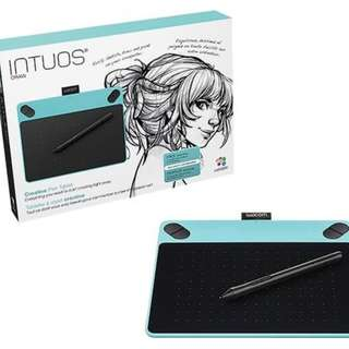Wacom Intuos Draw CTL-490 Digital Graphics Drawing Tablet/Blue Colour