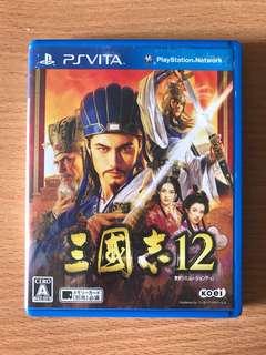 Ps Vita Japanese Sangokushi 12