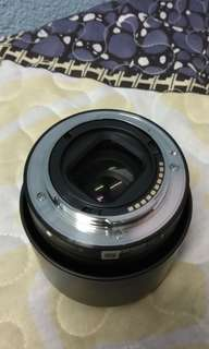 Sony E mount 50mm f1.8