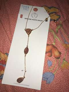 Time and Tru Necklace w Extender