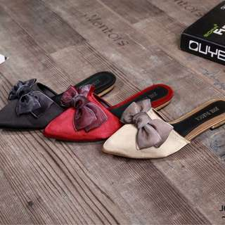 JOSÉ DAROCA Ribbon Mule  Shoes