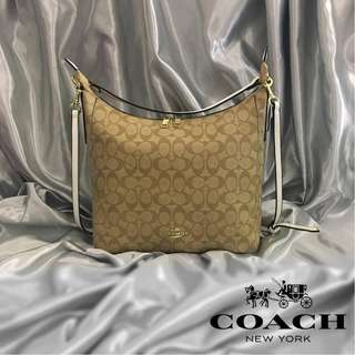 Authentic Quality Coach Outline Signature Celeste Hobo Shoulder Crossbody Bag Sling Bag Purse Handbag Women's Bag