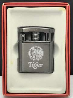 Tiger Beer Stainless Steel Windproof Lighter